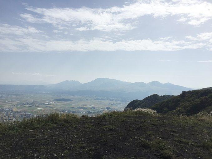 阿蘇外輪山からの眺め
