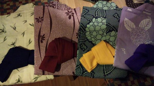 湯本荘の浴衣4種類