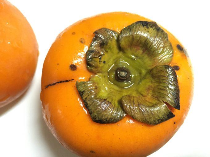 柿のヘタ側