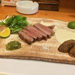 【宮崎市 遊旬はつ】ステーキと刺身、肉や魚いろいろ楽しめる!