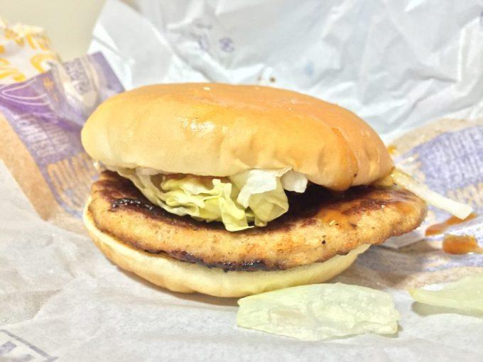 ハンバーガー(ヤッキー)