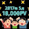 【PV報告】ブログ開設6カ月。凡人ブログのアクセス数を晒そう
