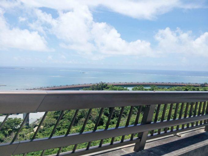 ニライカナイ橋上からの景色