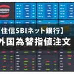 【SBIネット銀】ドル円指値注文と取消方法!手数料1ドル4銭へ値下げ