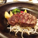 この量でこのお値段、12,000円の高級シャトーブリアンステーキを食べた!