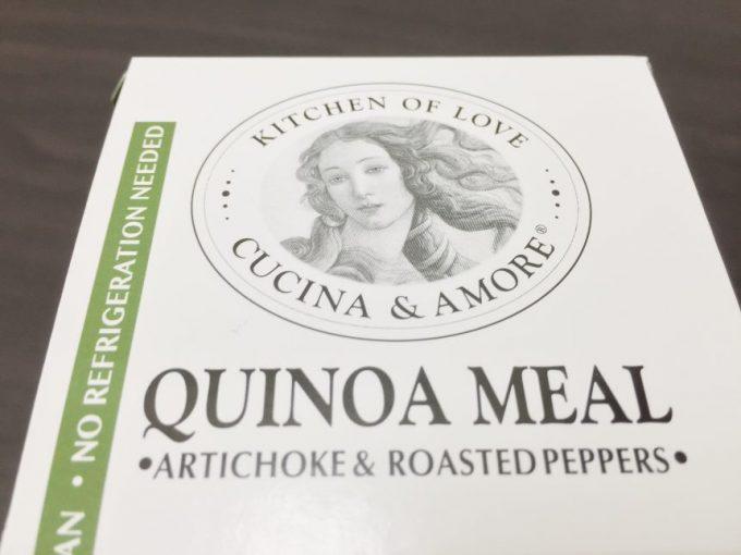 cucina&amore,quinoa mealロゴパッケージ