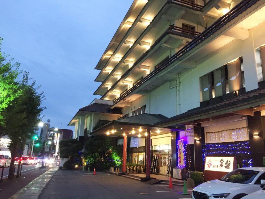 女将劇場が有名な旅館、西の雅 常盤
