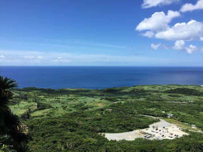 大石林山展望台からの眺め