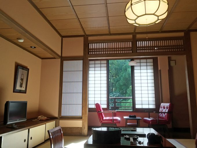 黒川温泉湯本荘の室内