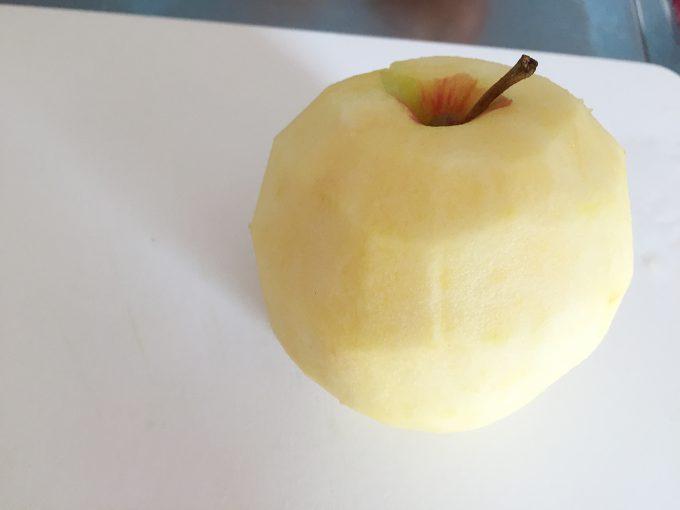 むかれたりんご