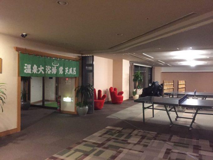 ホテルジェイズ日南卓球場
