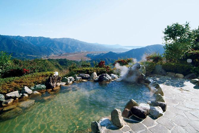 ジェイズ日南の露天風呂