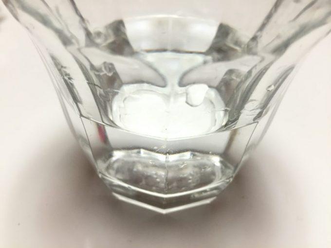 グラスに注いだ茜霧島