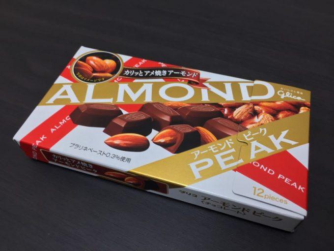 アーモンドピークの箱