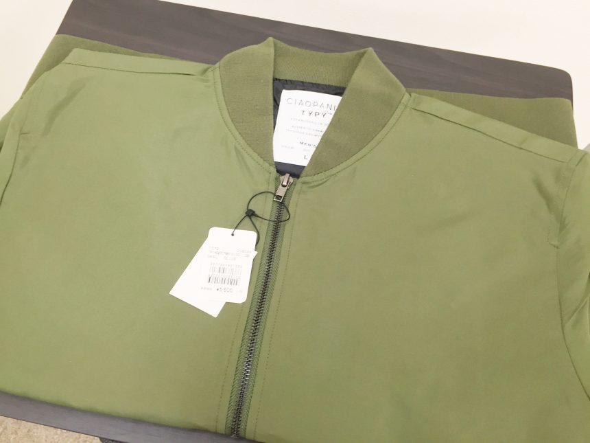 ciaopanic TYPYのMA-1タイプジャケット