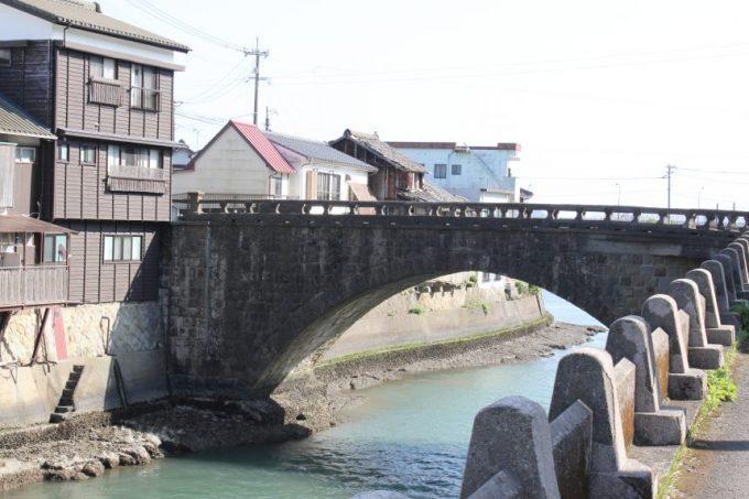 堀川運河にかかる堀川橋