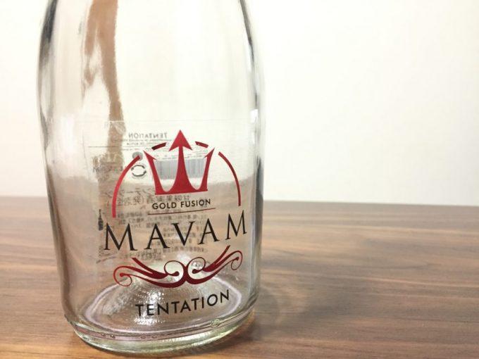 mavam tentationの空きボトル