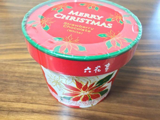 六花亭のクリスマスストロベリーチョコレート