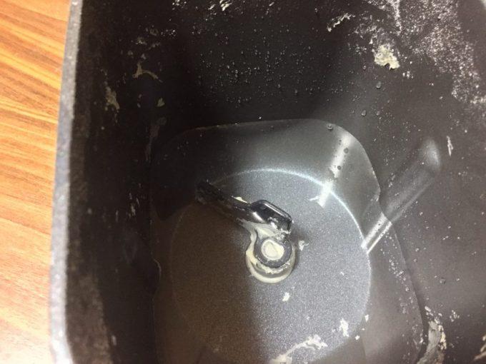 水につけたパンケース