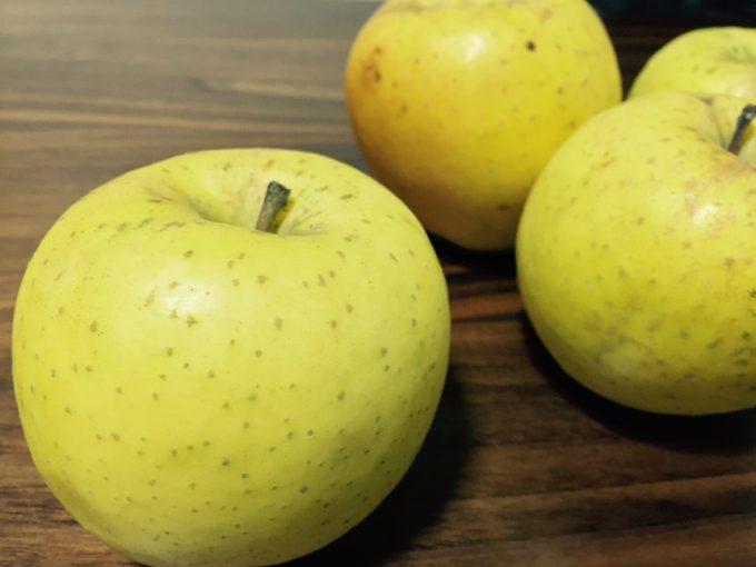 リンゴの品種星の金貨