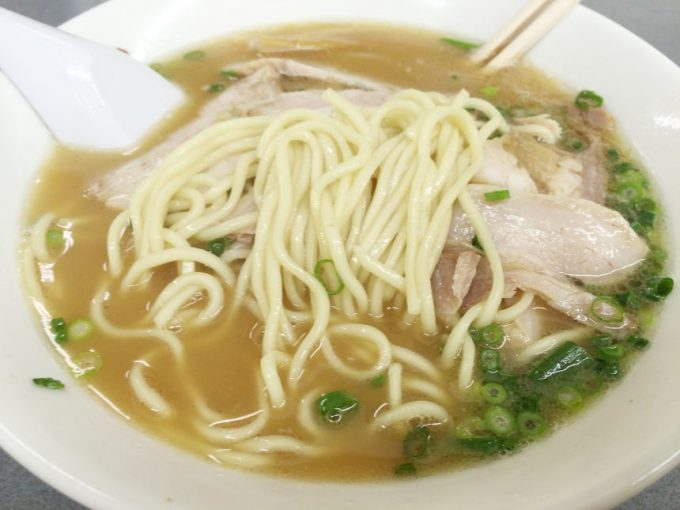 きむらラーメンの麺