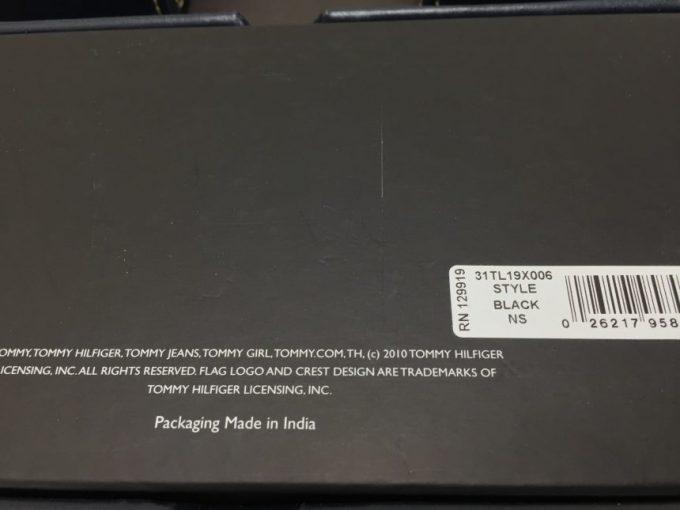 31tl19x006の箱の裏