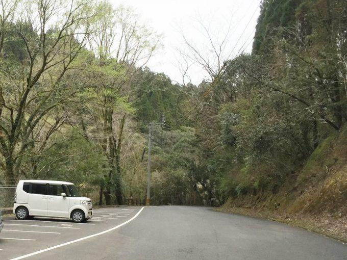 猪八重渓谷第一駐車場