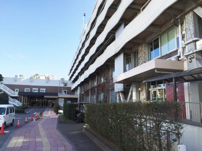 宮崎市役所の建物