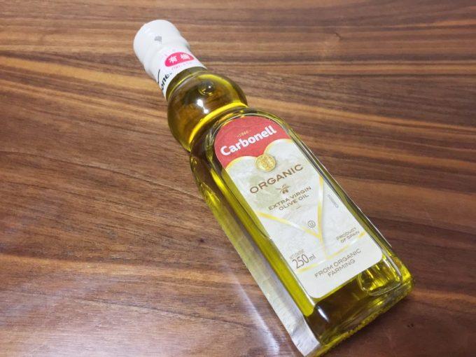 calbonell,organic extra virgin olive oilのボトル