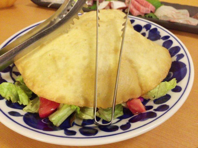 サクサクドームサラダ