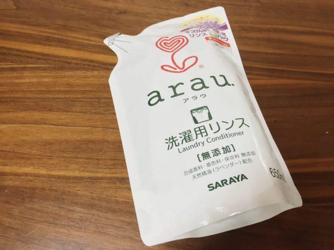 arau(アラウ)洗濯リンス、つめかえ用
