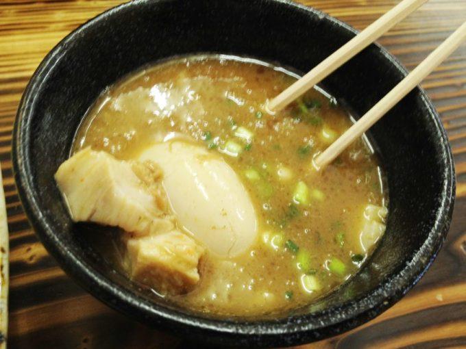 麺魂(めんそうる)、つけ麺のつけ汁