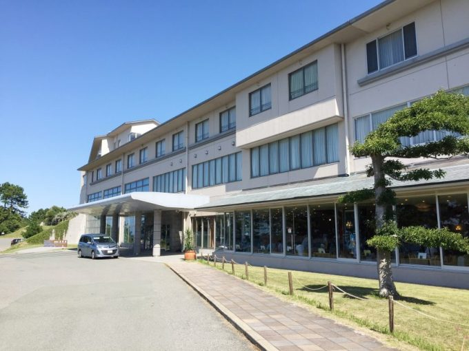 休暇村志賀島の建物