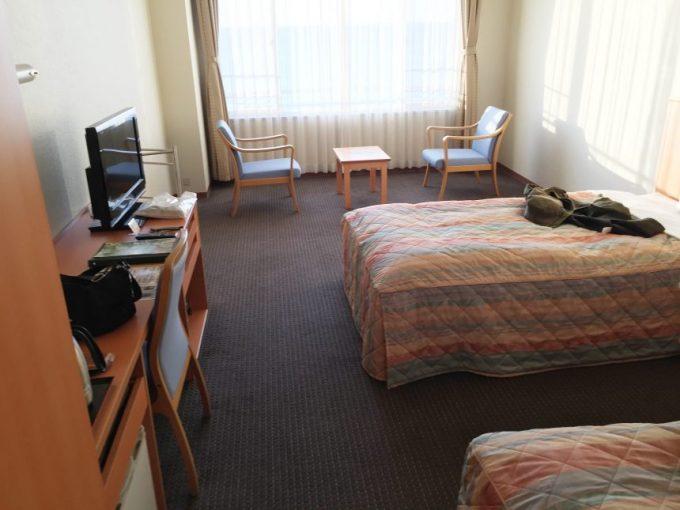 休暇村志賀島の洋室
