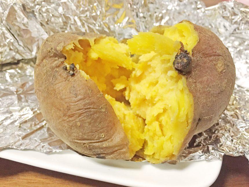オーブン 焼き芋