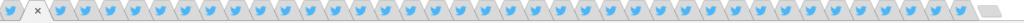 クロームのタブに鬼のように並ぶツイッターのタブ。大群か。
