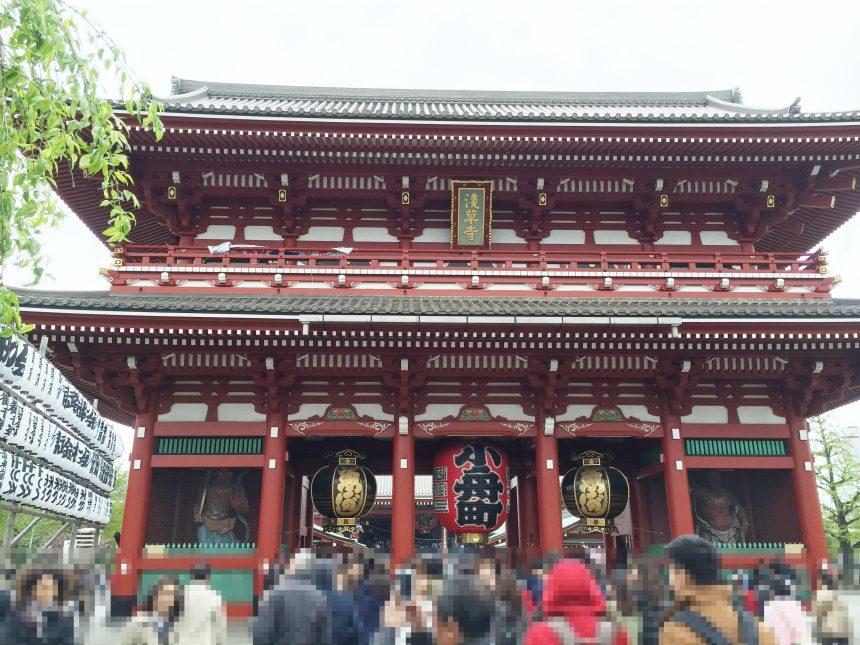 浅草の宝蔵門