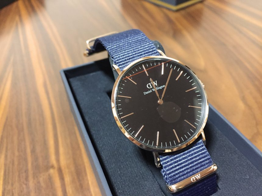 Classic 40mm Bayswater(ブラック文字盤)