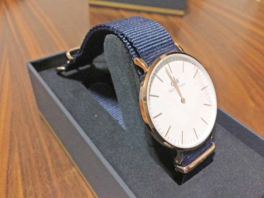 Classic 40mm Bayswater(ホワイト文字盤)