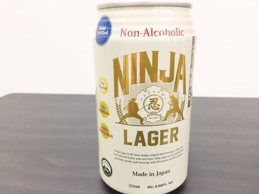 NINJA LAGER(忍者ラガー)の350ml缶(英語表記)