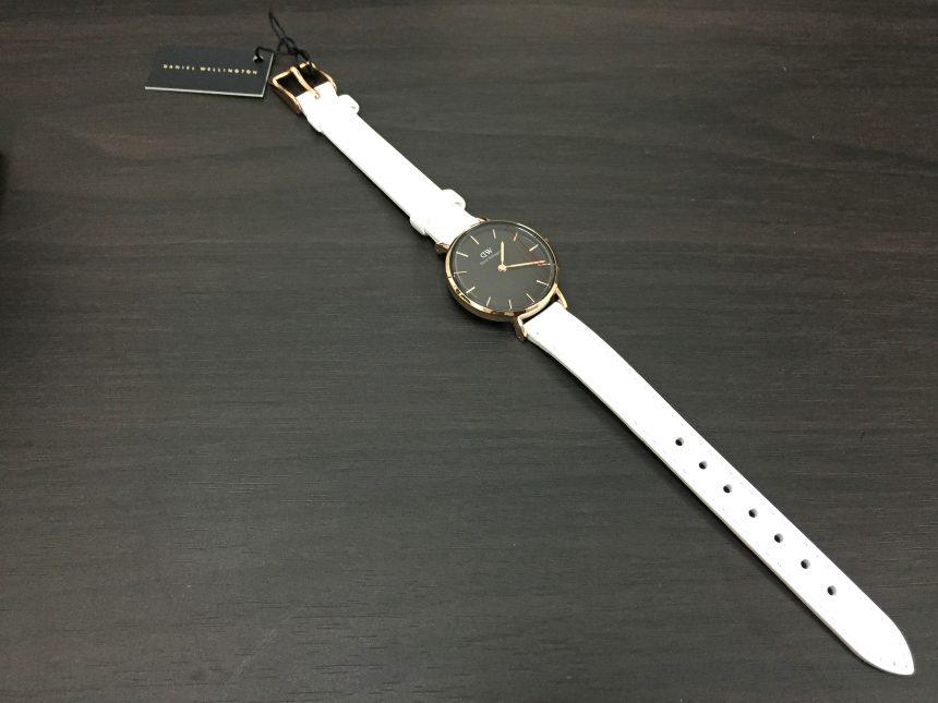 ダニエルウェリントン、プチBONDIの腕時計全景
