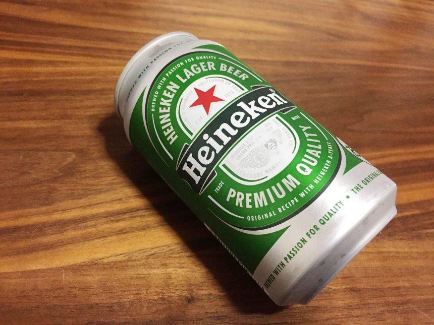 ハイネケンの缶