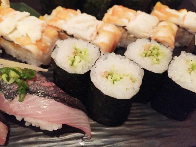 寿司のアップ