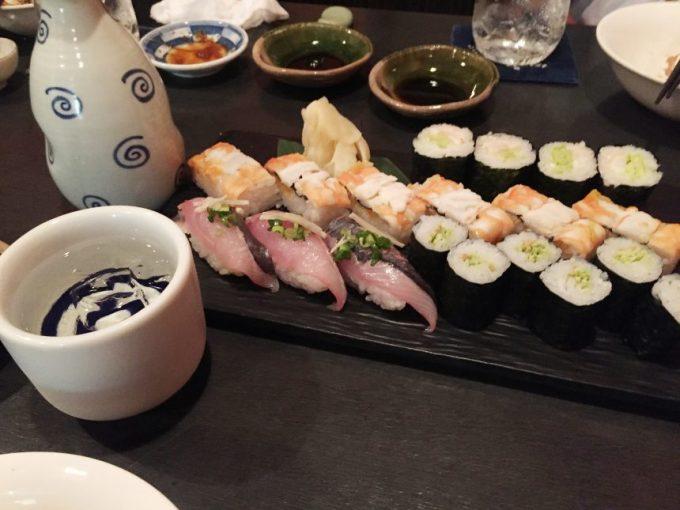 寿司と日本酒