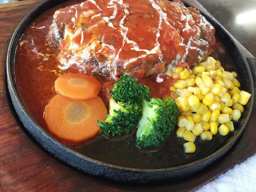 得盛りハンバーグステーキ(洋風チーズ)