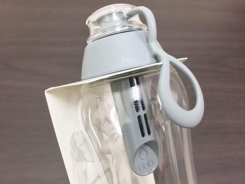 ダフィ浄水ボトルのキャップ&浄水フィルター部分