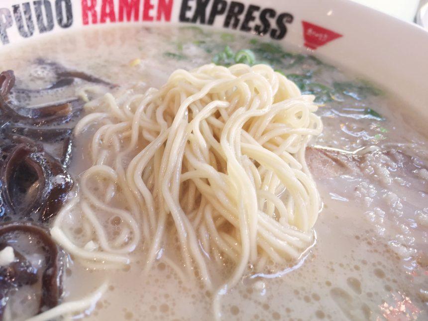 一風堂の細麺