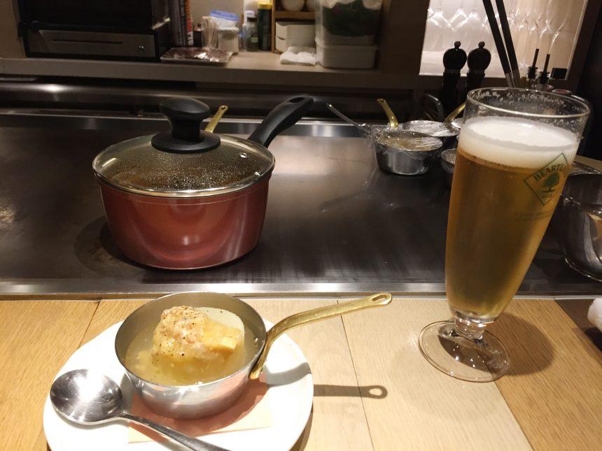 ふろふき大根とビール