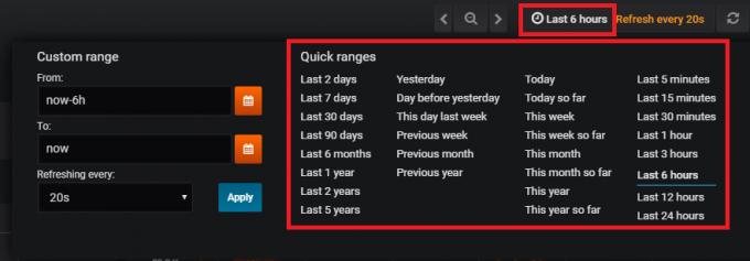 datamish表示期間変更方法