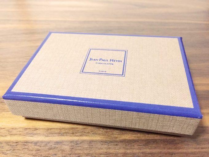 ジャンポールエヴァンのチョコレート箱